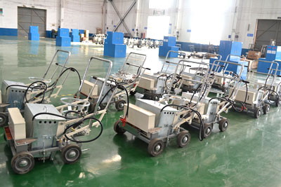 DY-HPTP thermoplastic pedestrian road marking machine 01