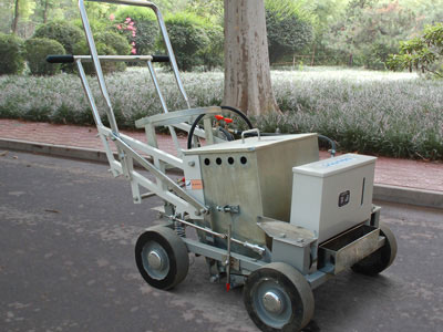 DY-HPTP Hand-push Thermoplastic Screeding Pedestrian Road Marking Machine