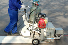 AC-SPTP thermoplastic road marking machine
