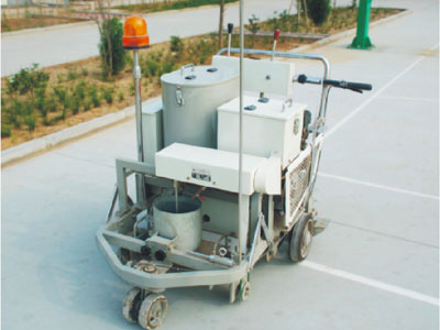 AC-SSTC-I/II Self-propelled Two-component Paint Road Marking Machine