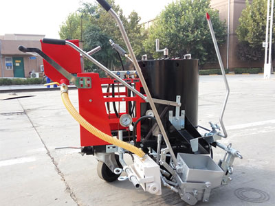 AC-HPT-I/III Hand-push Thermoplastic Screeding Road Marking Machine